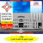 Digital Marketing Summit – IBS Hyderabad