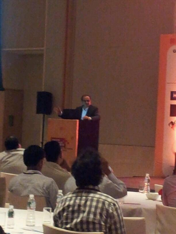 J Pullur at Nasscom Product Conclave