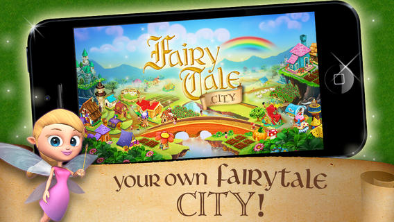 fairytale city from yesgnome