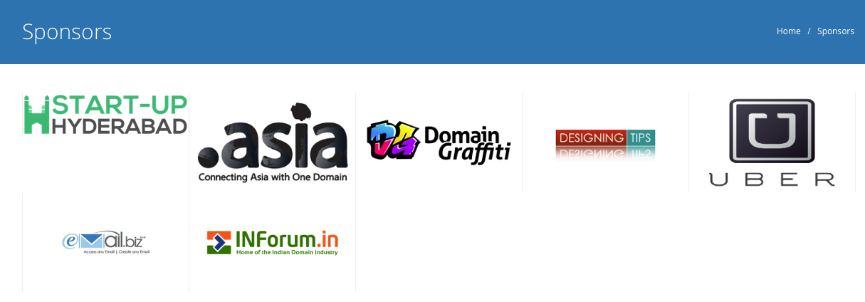 Media Sponser- Start Up Hyderabad for DOMAINX