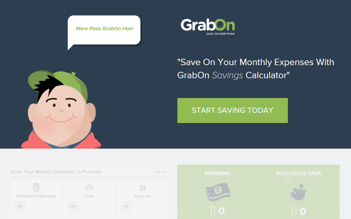 Grabon savings Calculator