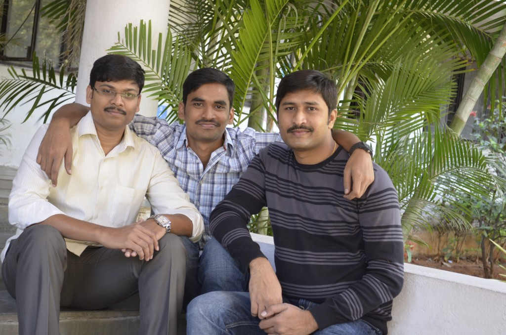 Founders(From Right side - Ram, Laxman and Madhu)