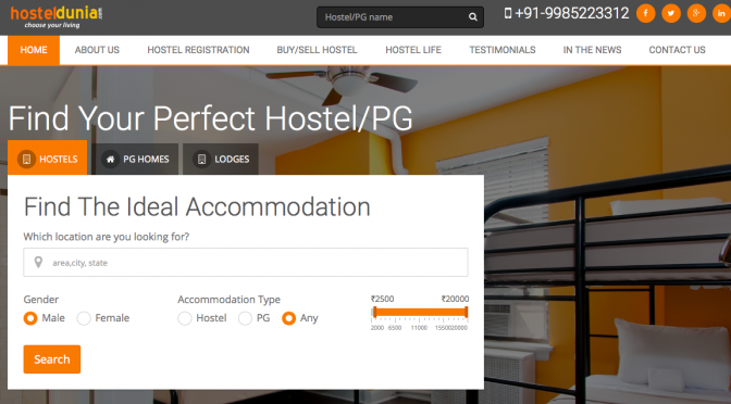 Hyderabad startup HostelDunia – helping people find the right hostels