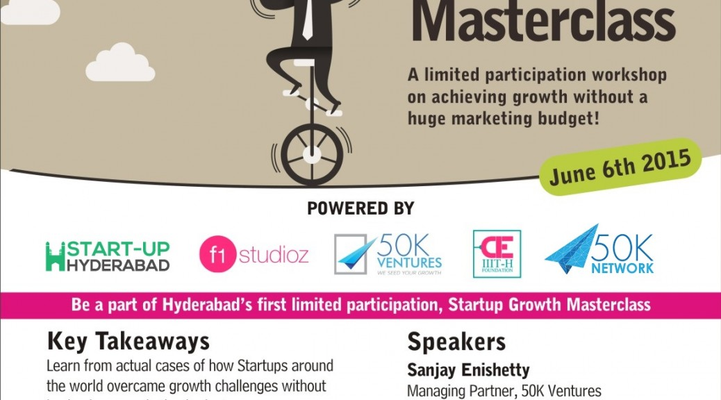 Startup Growth Masterclass PayUmoney Hyderabad-2
