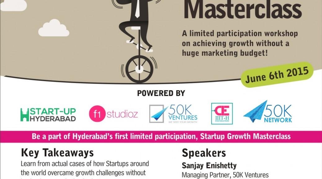 Startup Growth Masterclass PayUmoney Hyderabad-2