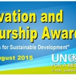 Youth innovation and Entrepreneurship award