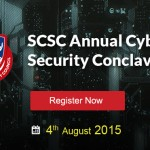 Be a part of the first cyber security conclave hosted by SCSC