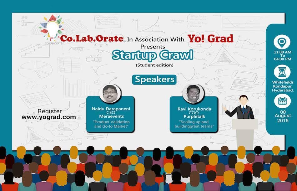 startup crawl