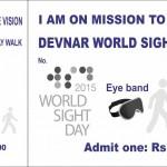 World Sight Day walk 2015
