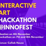 Interactive Art Tech Hackathon at Innofest Hyderabad