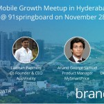 Mobile Growth Meetup in Hyderabad by Branch.io
