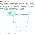 Chennai rains – startups to the rescue