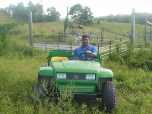 Subhash at Joe farm Pittsburgh