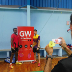 The success of the first Badminton league for corporates organized by Groundwala