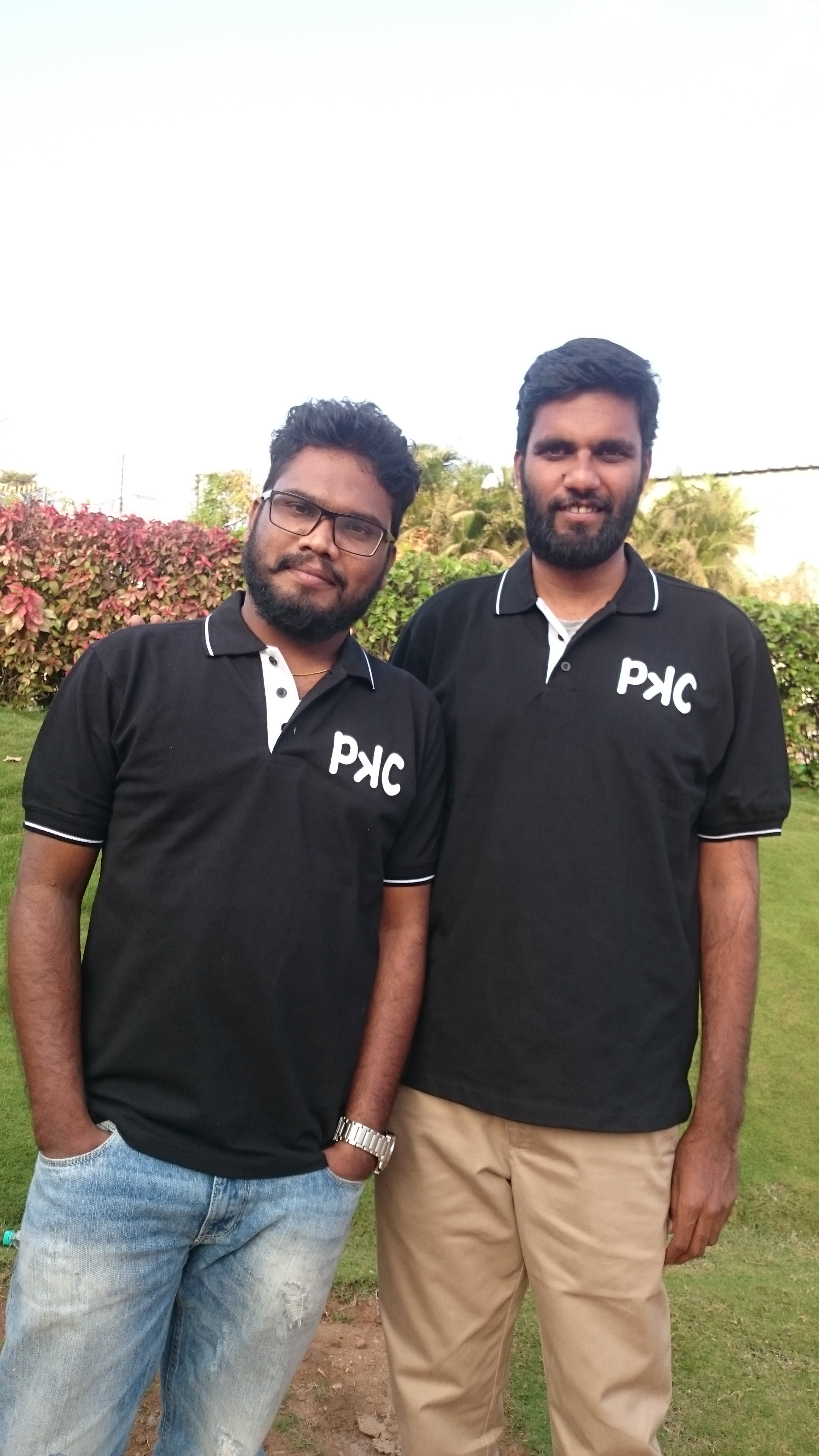 The Founders (from left): Premanth Kundurthi & Chaithanya